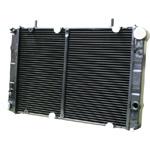 Радиатор ГАЗ 2217, 3302 охлаждения медный 2-рядный, рамка